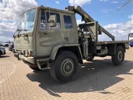 kraanwagen DAF Leyland DAF 4x4 Crane Hiab cargo truck ex army 1993