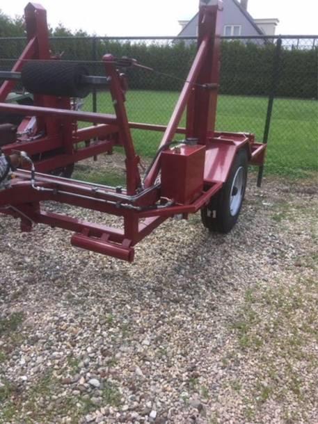 overige landbouwmachine Haspelkar / haspelwagen hydraulisch;  6 tons met afrolsysteem