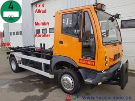 wissellaadbaksysteem vrachtwagen Multicar Bucher BU 200 4x4 Multilift Arbeitsplatte Euro 4 2006