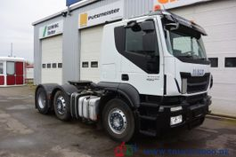 overige vrachtwagens Iveco Stralis 450 EEV Kipphydraulik Vorlauf-Lenkachse 2013