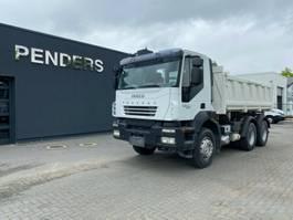 kipper vrachtwagen > 7.5 t Iveco TRAKKER 450 Euro 5 3 seiten kipper