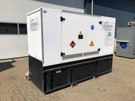 generator SDMO J110K John Deere Leroy Somer 100 kVA Supersilent Rental Generatorset 2015