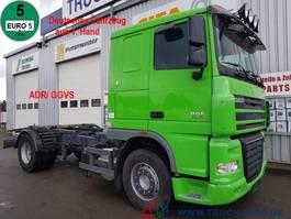 chassis cabine vrachtwagen DAF XF105.460 Deutscher LKW 1. Hand ADR/ GGVS AHK50t 2010