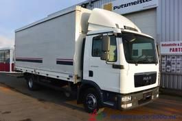 schuifzeil vrachtwagen MAN TGL 12.250 Schiebeplane LBW 1.5 t. AHK HU 10/20 2011