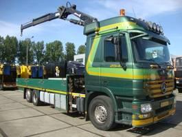 platform vrachtwagen Mercedes Benz ACTROS 2541meiler crane 19,5 ton 2009
