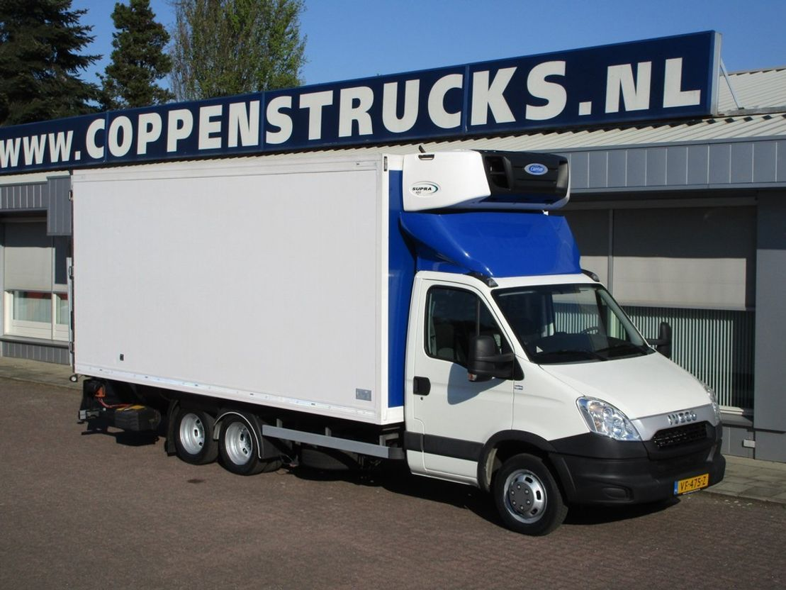 koelwagen bestelwagen Iveco Daily 40 C 15t Clixtar BE EEV 7490kg 2013