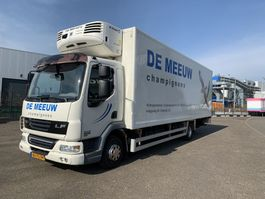 koelwagen vrachtwagen DAF 45 lf 210 lambaret+thermo-king ts 500 2009