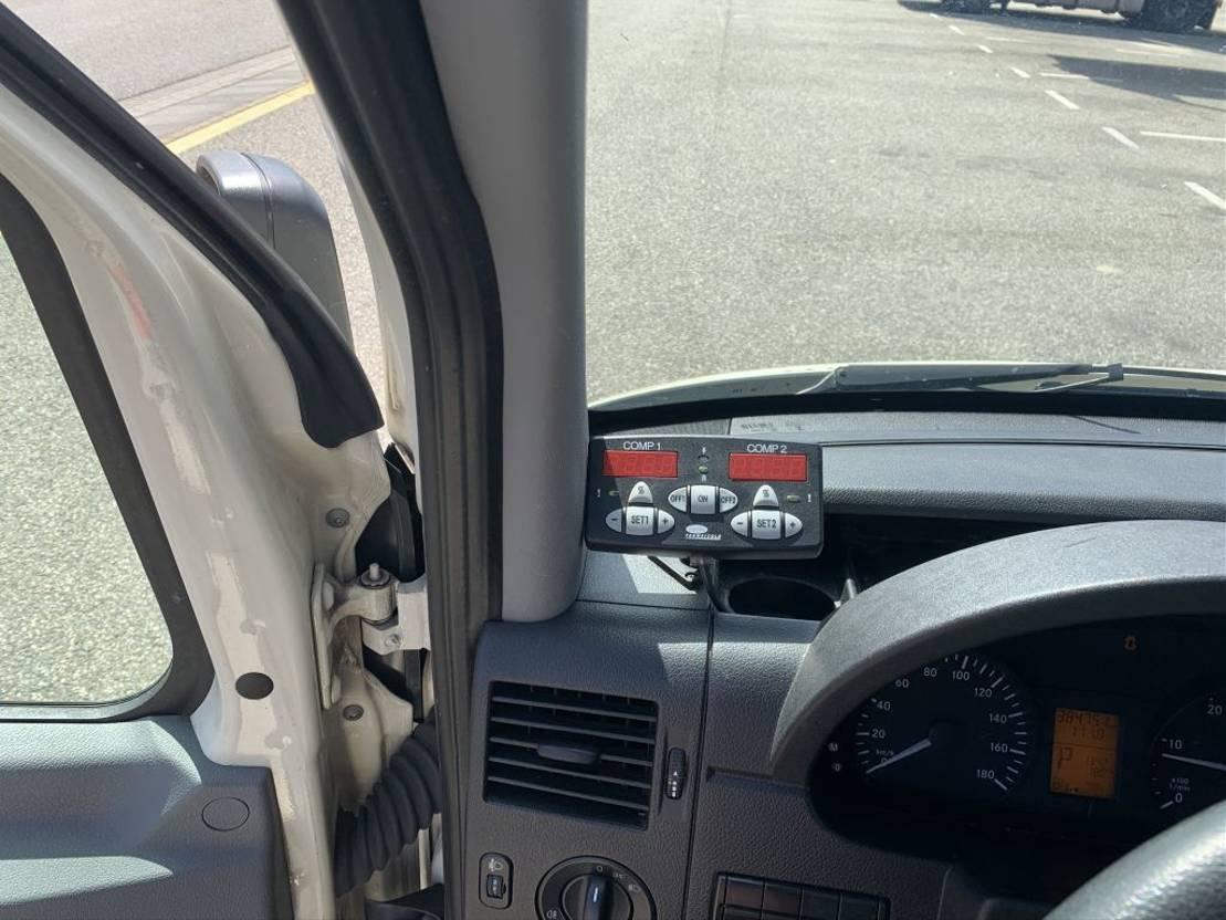 koelwagen bestelwagen Mercedes Benz SPRINTER 316cdi l3h2 airco dubbele koeling laadklep 2014