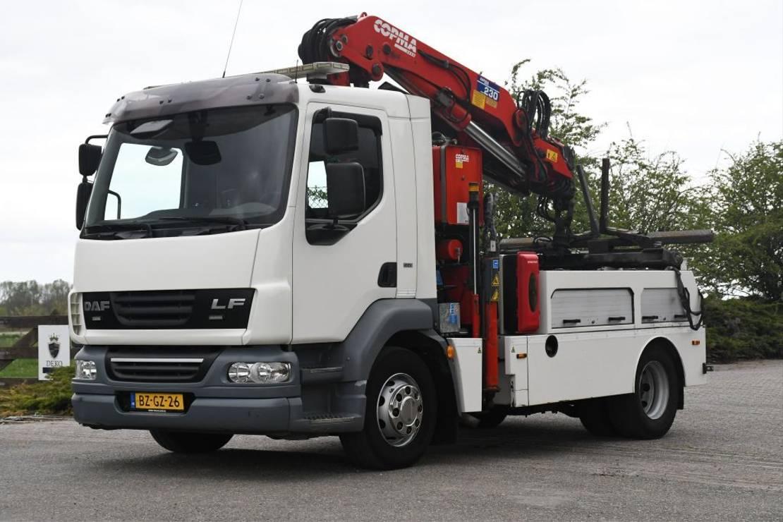 takelwagen-bergingswagen-vrachtwagen DAF FA LF55 /180!!TAKELWAGEN/DEPANNAGE/ABSCHLEPP/CRANE/BRILLE/KRAN/GRUA!!EURO5!!TOP!! 2011