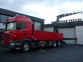 platform vrachtwagen Scania R480 6x2-4 Euro 5 Retarder Hiab 288EP-5 Hiduo 2011