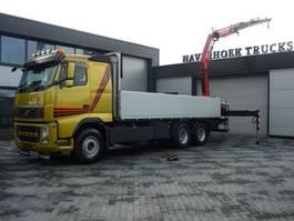 platform vrachtwagen Volvo FH13 480 6x4 Euro 5 Crane Fassi F215 2011