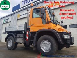 kipper vrachtwagen > 7.5 t Unimog U 400 4x4 3 S. Wechsellenkung 1.Hand Scheckheft 2008