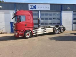 containersysteem vrachtwagen Scania R450 6x2 haaksysteem. 2017