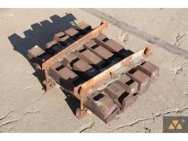 overige equipment onderdeel Parker 700x450 Wedge set