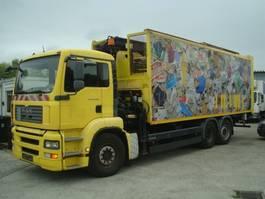 vuilniswagen vrachtwagen MAN TGA 26.360/KRAN+PRESSE+SCHUBBODEN/33 m³/TOP 2007