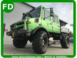 kipper vrachtwagen > 7.5 t Unimog Unimog 427 Doka, Doppelkabine, FUNMOG, 5-6 Sitzplätze, Showfahrzeug 1996