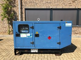 generator SDMO J33 John Deere Leroy Somer 30 kVA Supersilent generatorset 2006