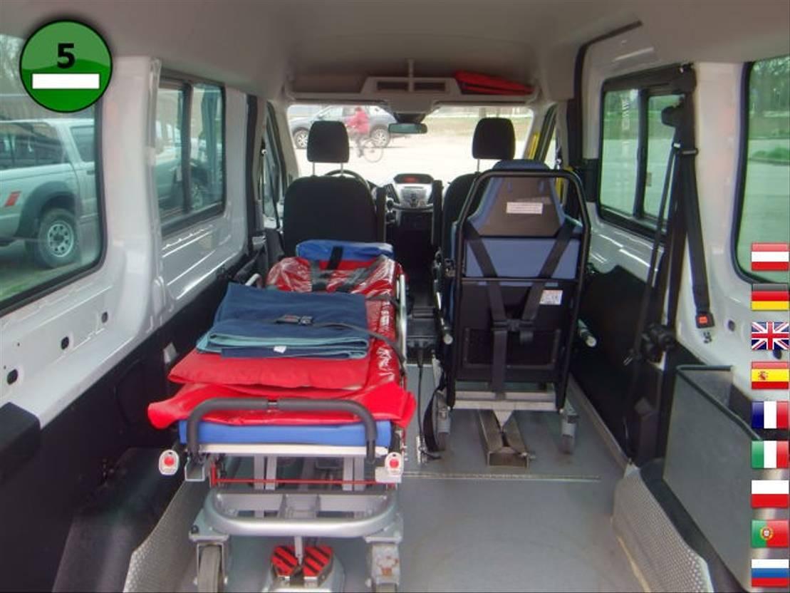 ambulance bedrijfswagen Ford Transit 350 L2 Trend KLIMA Rampe Krankenliege St 2015