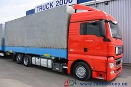 wissellaadbaksysteem vrachtwagen MAN TGX 26.400 Jumbo Intarder Standklima TüV 07/20 2012