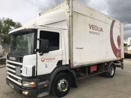 bakwagen vrachtwagen > 7.5 t Scania 94D 260 **FULL STEEL SUSPENSION-A LAMES** 1999