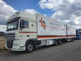 koelwagen vrachtwagen DAF FAR XF105 2011