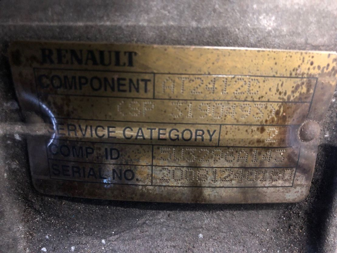 Automatische versnellingsbak vrachtwagen onderdeel Renault AT2412C, Retarder