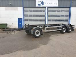 container chassis aanhanger GS Meppel 27 ton container aanhanger. 2016