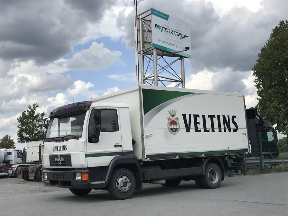 overige vrachtwagens MAN L 2000 8.163 Ewers Getränke Schwenkwand + Kühlung 1997