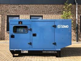 generator SDMO JS100K John Deere Leroy Somer 100 kVA Supersilent generatorset 2004