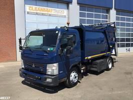 vuilniswagen vrachtwagen Fuso Canter 9C15 Duonic 7m3 2016