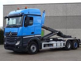 containersysteem vrachtwagen Mercedes Benz ACTROS 2645 6X2  CONTAINER SISTEEM - CONTAINER HAAKSISTEEM -SYSTEME CONT... 2014