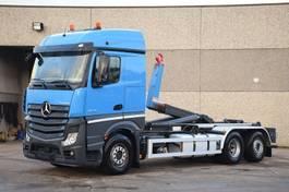 containersysteem vrachtwagen Mercedes-Benz ACTROS 2645 6X2  CONTAINER SYSTEEM- CONTAINER SISTEEM- CONTAINER HAAKSYSTEEM- SYSTEME CONTENEUR 2014