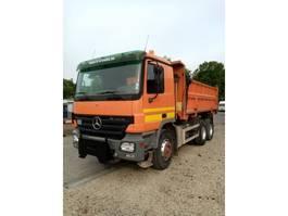 kipper vrachtwagen > 7.5 t Mercedes Benz Actros 6x4 33.36 bi-benne 2005