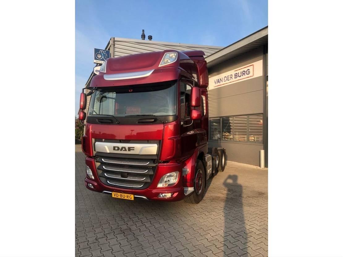 zware last trekker DAF CF 85 FTG Euro 6 2018