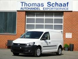 gesloten bestelwagen Volkswagen Caddy Maxi 1.6 Tdi DSG Automatik PDC Euro 5 2012