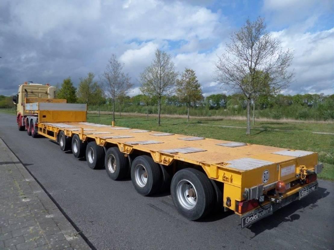 semi dieplader oplegger Goldhofer STZ-L6-60/80A 2008