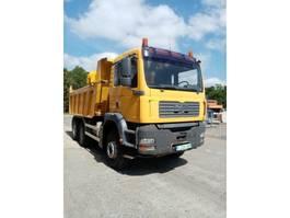 kipper vrachtwagen > 7.5 t MAN TGA 26.410 6x4 TIPPER/TRACTORUNIT MANUAL GEARBOX ! 2003