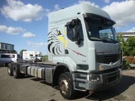 chassis cabine vrachtwagen Renault 450DXI LANDER 6X4 SPRINGS MANUAL GEARBOX,VOLVO ENGINE 2009