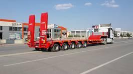 dieplader oplegger Lider extendable lowbed semi trailer 2020