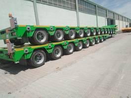 dieplader oplegger Lider Extendable 8 axle lowbed semi trailer 2021