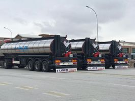 tankoplegger Lider Bitumen tanker semi trailer 2021