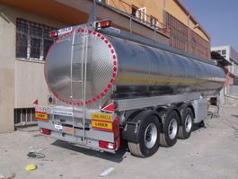 tankoplegger Lider Water tanker semi trailer 2020