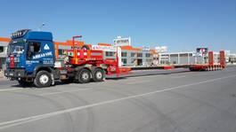 dieplader oplegger Lider extendable 6 axle lowbed semi trailer 2021
