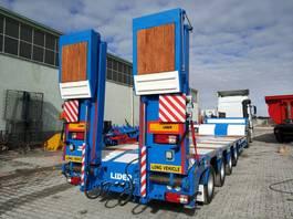 dieplader oplegger Lider Lowbed semi trailer. 2020