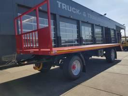 platte aanhanger vrachtwagen agpro 2 as bladgeveerd 2020