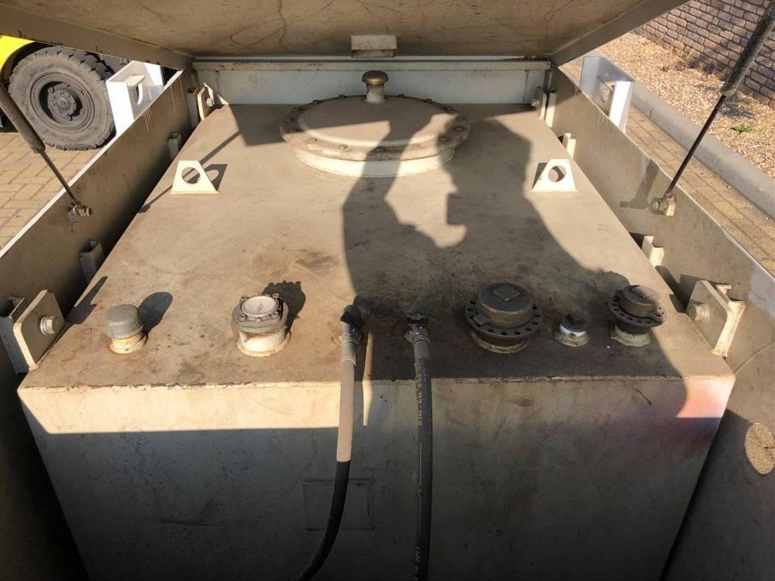 Kiwa IBC 1000 liter dieseltank met keuring !   IBC