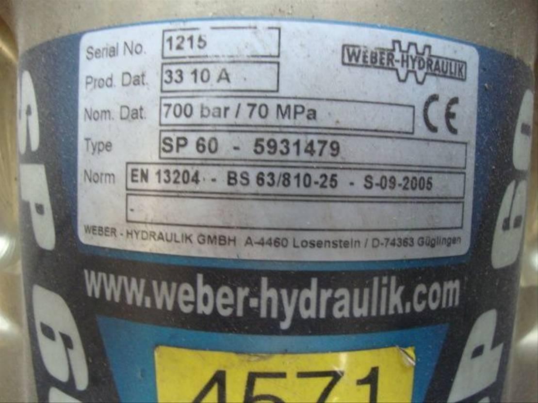 brandweerwagen vrachtwagen Mercedes-Benz weber/holmatro hydraulicset 2005
