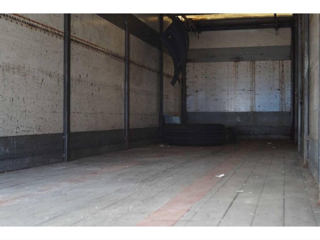 gesloten opbouw oplegger Floor 1-assige oplegger 1989