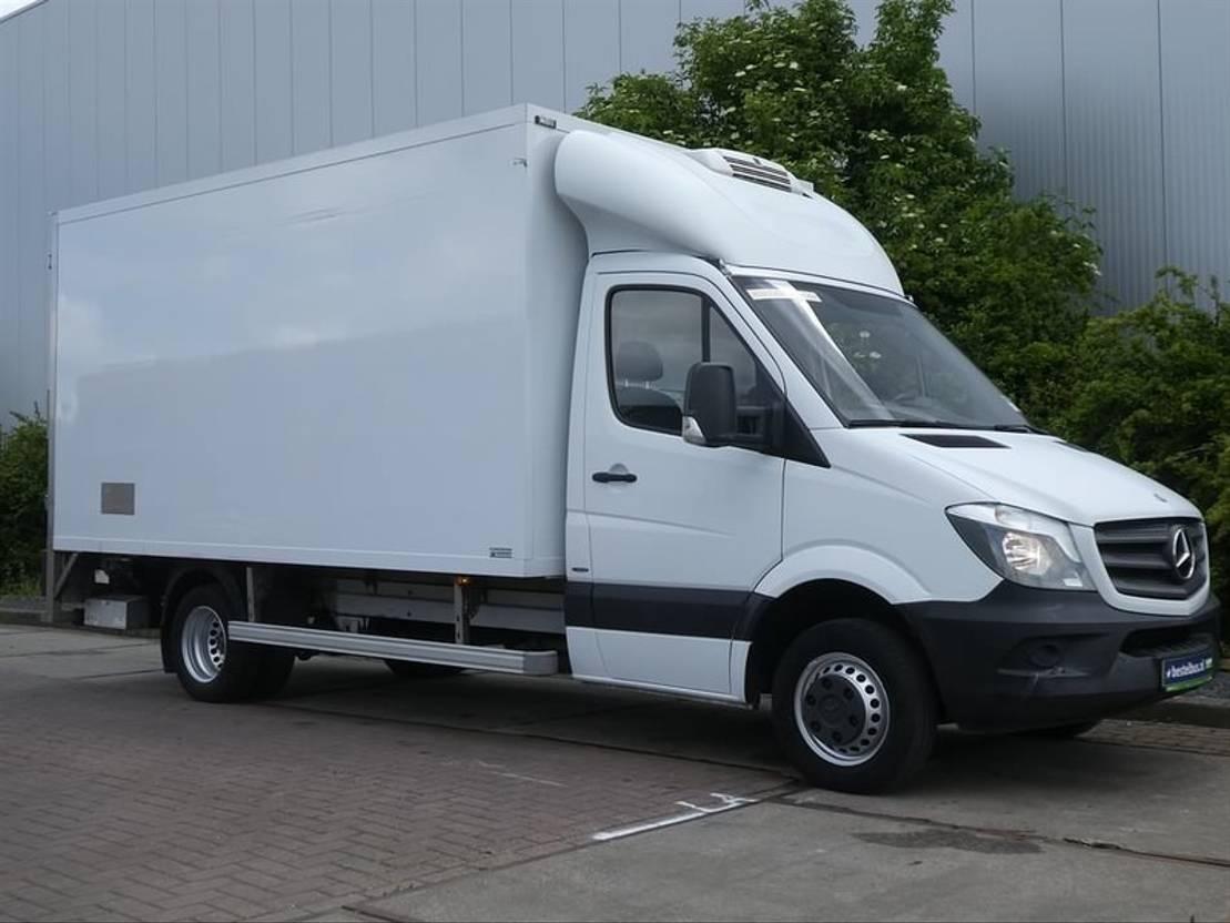 koelwagen bestelwagen Mercedes Benz SPRINTER 513 CDI koelbak laadklep 2014