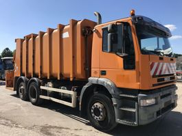 vuilniswagen vrachtwagen Iveco EUROTECH 260E31 6x2 **REFUSE TRUCK-BENNE ORDURE** 2001